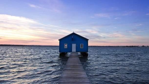 Возле синего домика в Австралии построят экотуалет