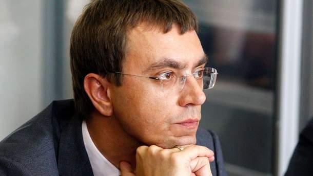Володимир Омелян не піде до Верховної Ради