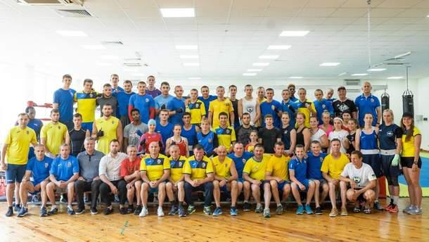Збірні України з боксу