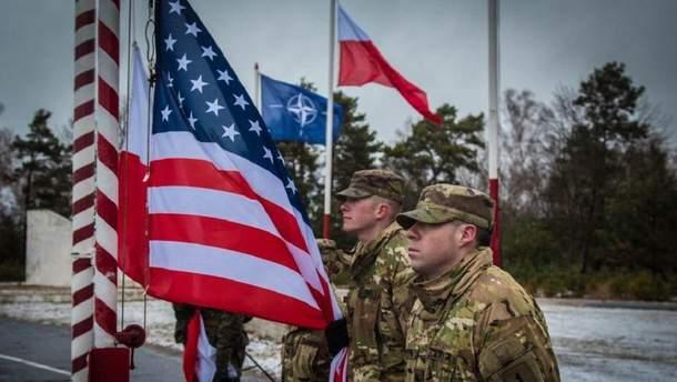 Контингент військових США в Польщі зросте на 1000 осіб