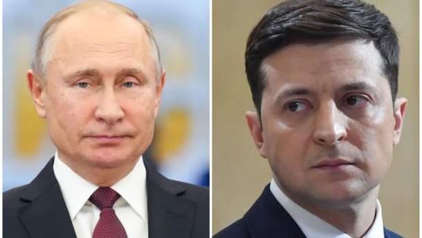 Путин прокомментировал президентство Зеленского