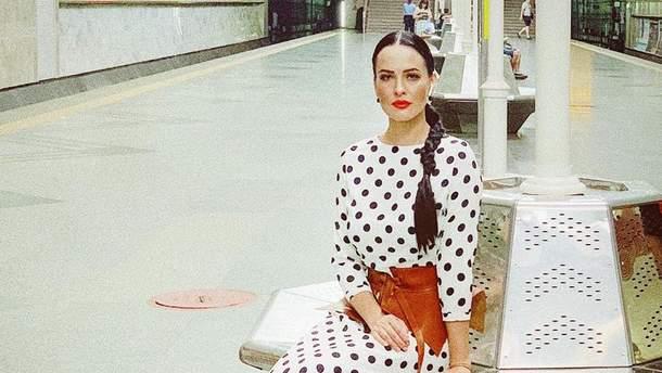 Даша Астаф'єва в метро