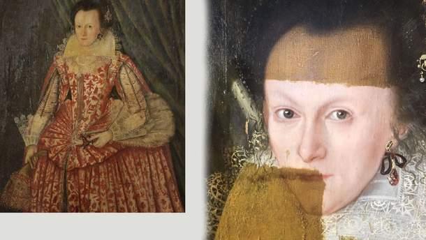 """Картина """"Женщина в красном"""""""