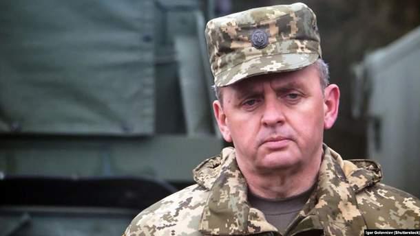 Муженко прокоментував загострення ситуації на Донбасі