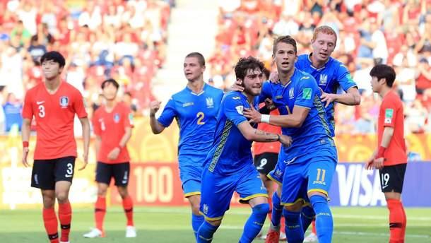 Украина – Южная Корея: видео голов финала Чемпионата мира U-20
