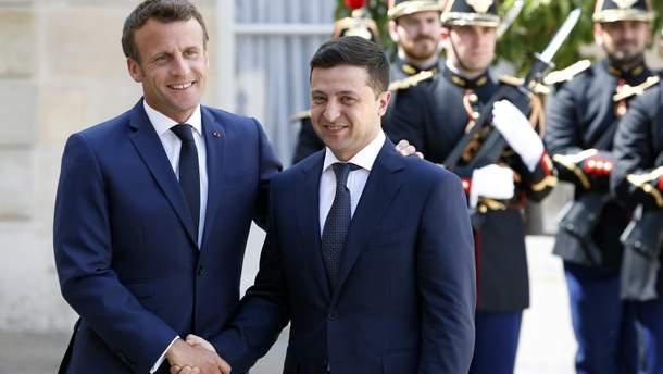 Встреча Зеленского и Макрона 17 июня 2019 - итоги, фото, видео встречи
