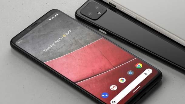 Вероятный дизайн Google Pixel 4