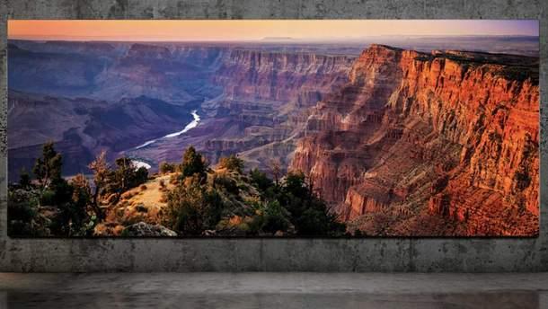 Самсунг представила необычайный телевизор The Wall Luxury
