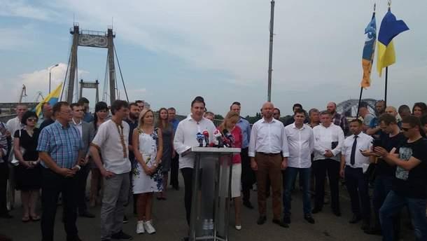 """""""Движение новых сил"""" Саакашвили обнародовало список кандидатов в Верховную Раду"""