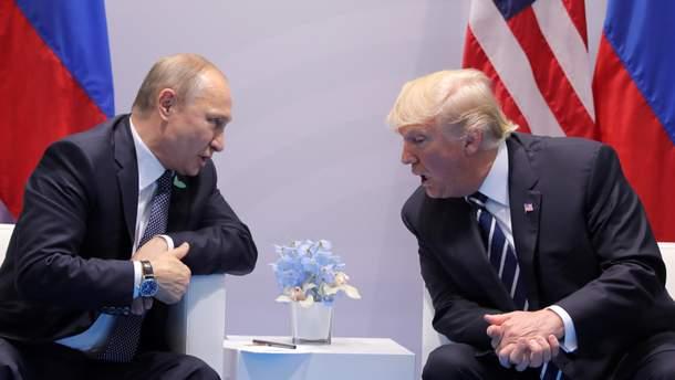 Трамп зустрінеться з Путіним на G-20