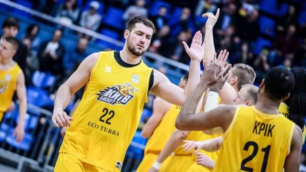 """""""Киев-Баскет"""" может сыграть в Лиге чемпионов FIBA"""