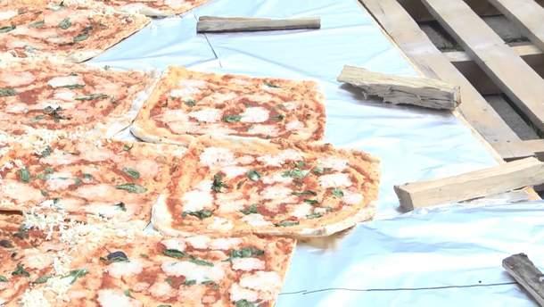 Найбільша піца на Тернопільщині