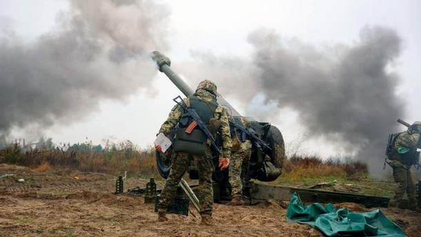 Враг обстрелял украинцев 9 раз