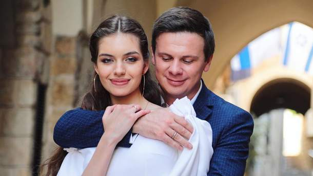 Як розпочався роман Дмитра Комарова та Олександри Кучеренко: несподіване зізнання ведучого