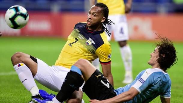 Футболіст Еквадору відзначився кумедним автоголом на Копа Америка: відео