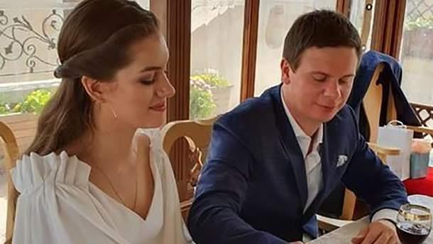 Дмитрий Комаров женился на Александре Кучеренко: фото церемонии