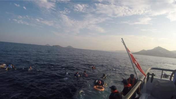 Утонули мигранты в Турции
