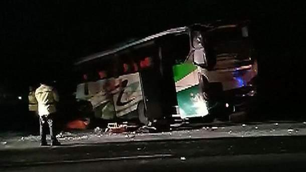 Аварія за участю автобуса в Індонезії