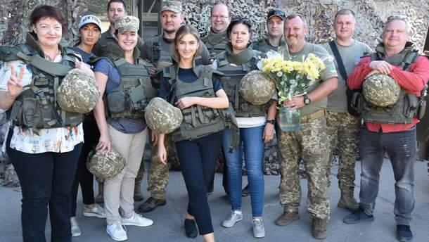 Литовцы посетили ООС
