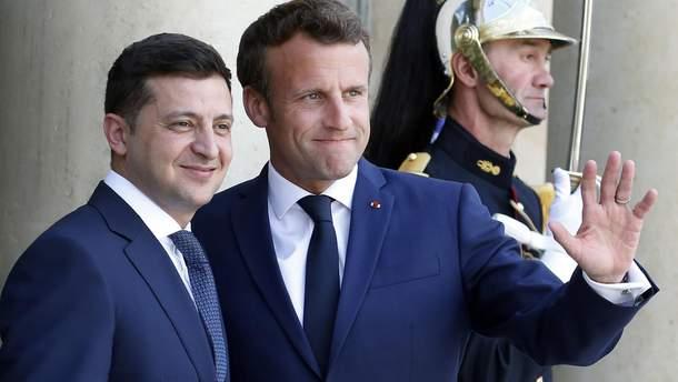 Макрон та Зеленський обговорили повернення Росії до ПАРЄ