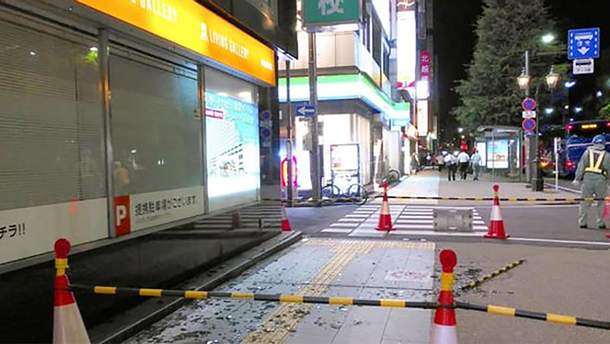 Японию обрушилось мощное землетрясение