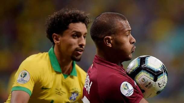 Арбітр двічі не зарахував голи Бразилії у ворота Венесуели на Копа Амеріка: відео