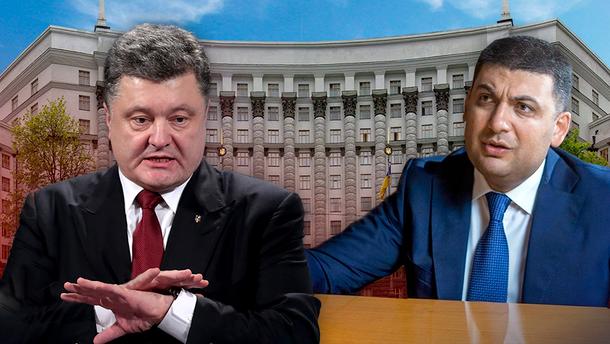 Гройсман vs Порошенко:  чому екс-партнери розпочали сезон взаємних звинувачень