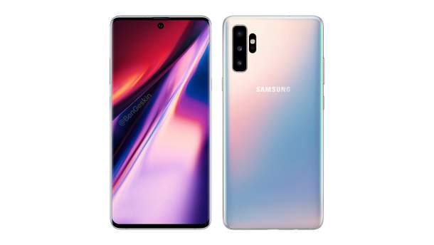 Ймовірний дизайн смартфона Samsung Galaxy Note 10