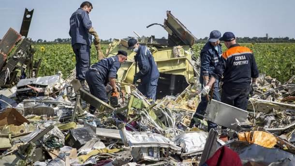 У Росії прокоментували підозри фігурантам катастрофи МН17