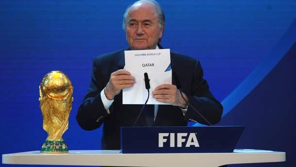 ЧС-2022 може відбутися не в Катарі