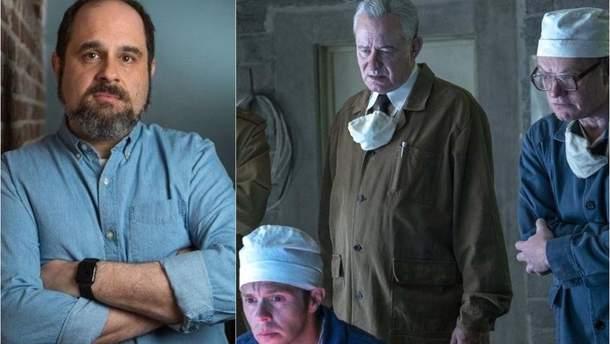 "Крейг Мезин, сценарист ""Чернобыля"""