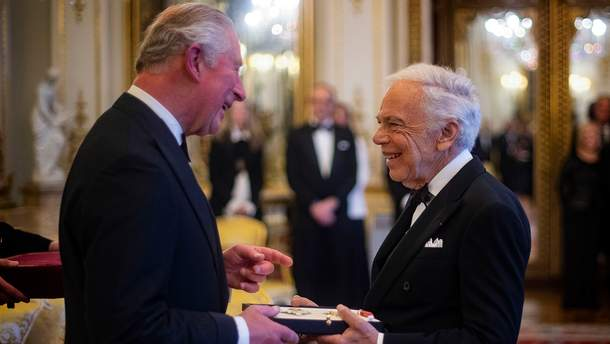 Ральф Лорен получил орден Британской империи