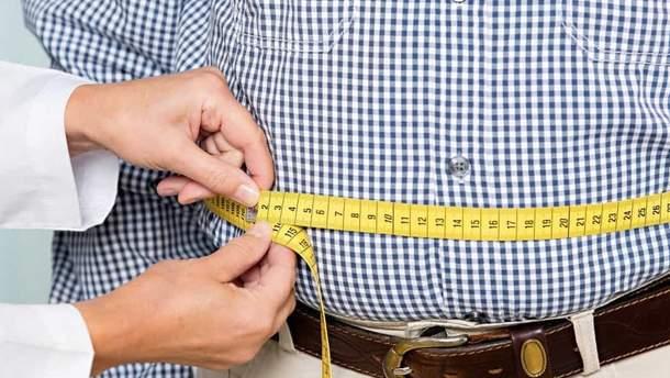 Надлишок жиру на животі провокує розвиток псоріазу