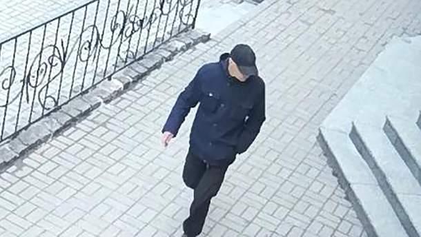 Вероятный нападавший на Вадима Комарова