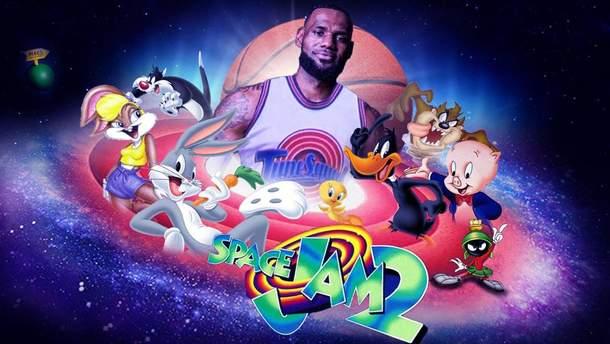 """ЛеБрон Джеймс та топ-баскетболісти НБА зіграють у фільмі """"Космічний джем 2"""""""
