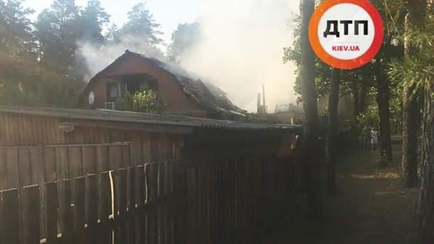 """Під Києвом згорів будинок, у якому знімали """"Свати"""""""