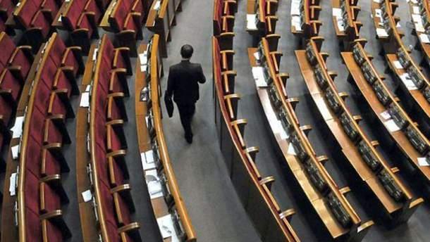 Петицию об уменьшении количества нардепов до 100 должен рассмотреть Зеленский