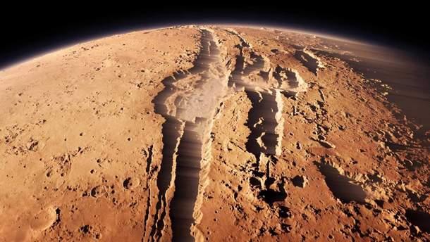 NASA нашли вероятные признаки жизни на Марсе