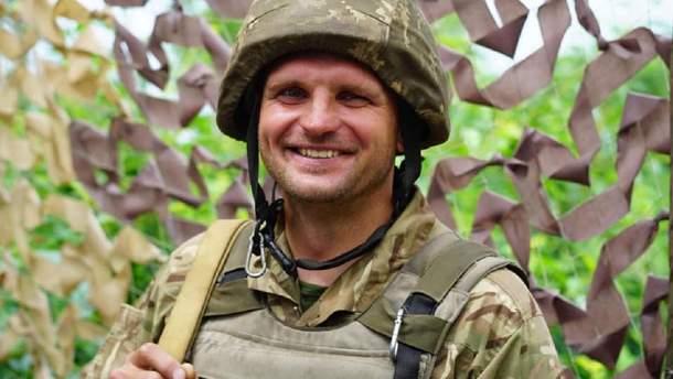 Боєць 53-ї бригади Андрій