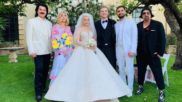 Знаменитости показали изысканную свадьбу Алины Гросу вВенеции