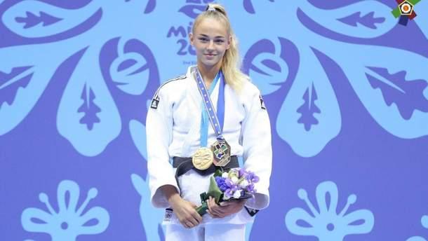 Дарья Билодид – чемпионка Европейских игр-2019
