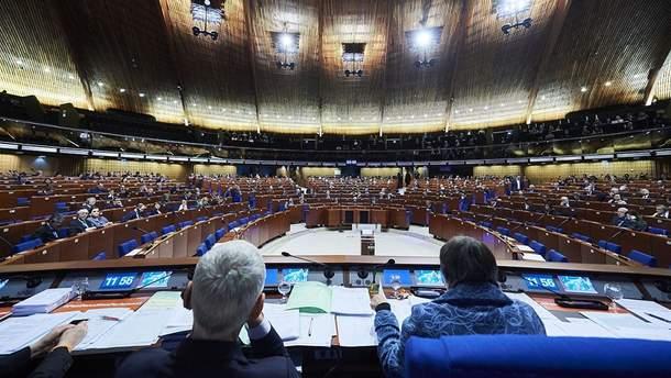 Россия в ПАСЕ - Украина может приостановить свое участие в ПАСЕ