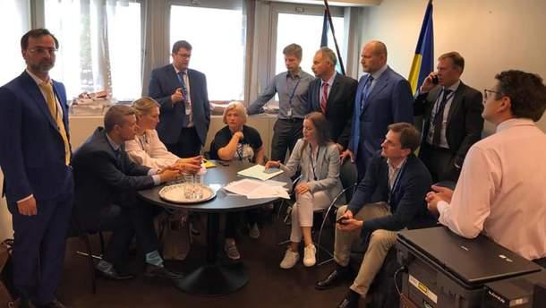 Украинская делегация временно покинула ПАСЕ