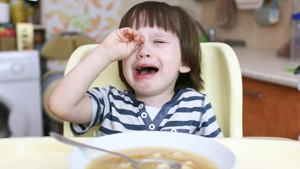 Как не нужно кормить ребенка