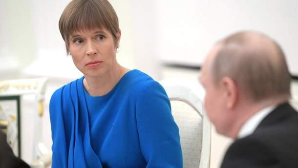 Возвращение России позорно для ПАСЕ, - президент Эстонии