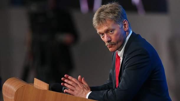 Пєсков заявив, що Росія не збирається звільняти українських моряків
