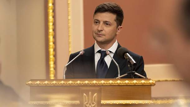 Зеленський отримав першу президентську зарплату