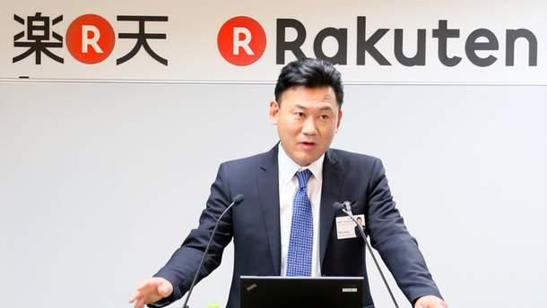 Засновник  компанії Rakuten Хіроші Мікітані