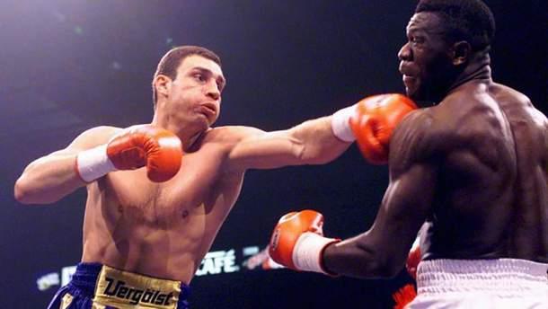 День в истории: 20 лет назад Виталий Кличко завоевал титул чемпиона WBO