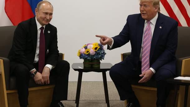 Зустріч Трампа та Путіна в Японії, Осака - фото, відео зустрічі на G20 2019